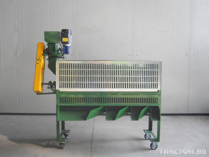 Машини за лозя / овошки Машина за чупене и калиброване на лешници P80 Super 0