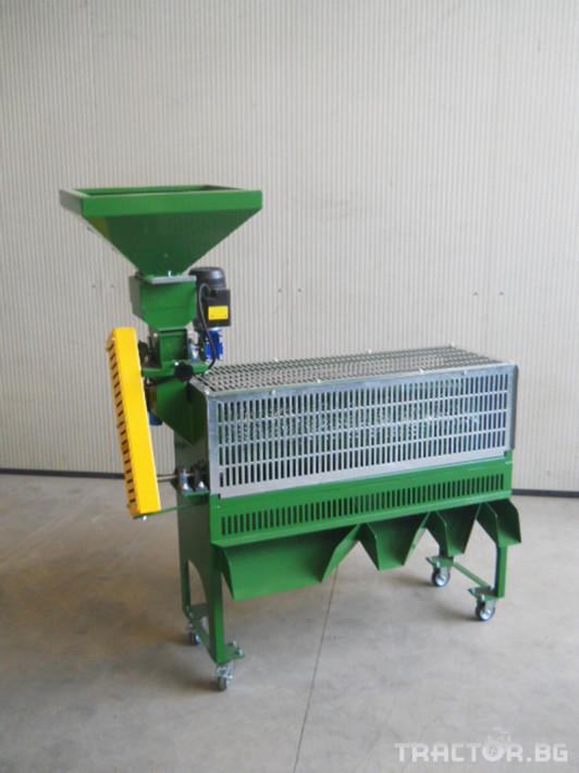 Машини за лозя / овошки Машина за чупене и калиброване на лешници P80 Super 4