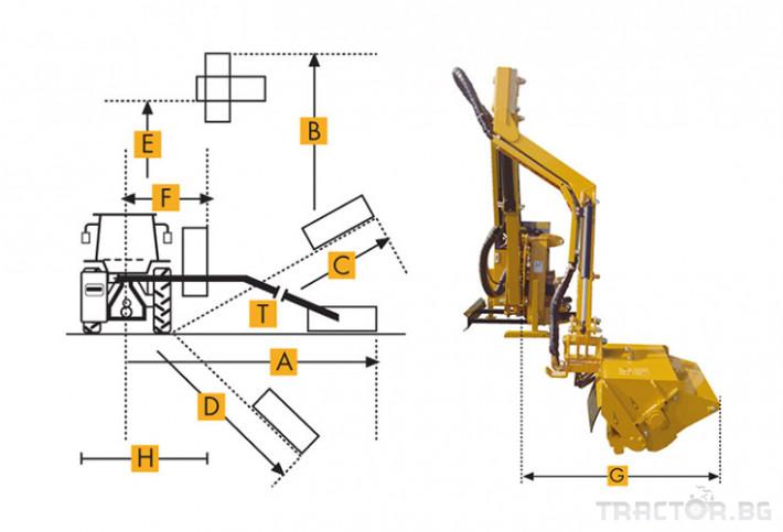 Техника за почистване Страничен мулчер MAROLIN модел M430AX - M500ASX 0