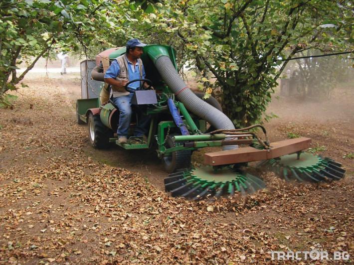 Машини за лозя / овошки Самоходни комбайни за орехи и лешници 9
