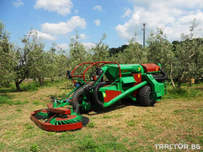 Машини за лозя / овошки Самоходни комбайни за орехи и лешници 6