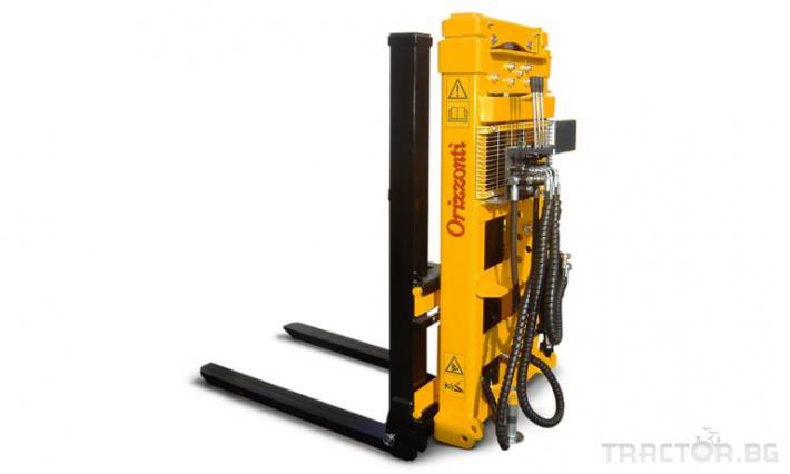 Машини за лозя / овошки Вилкоповдигач ORIZZONTI  TRIPLEX TXF 1300 0 - Трактор БГ