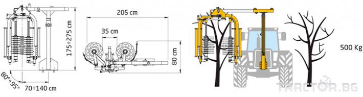Машини за лозя / овошки Машина за зимна контурна резитба ORIZZONTI модел PFDR 2