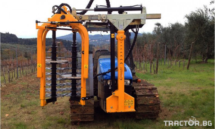 Машини за лозя / овошки Машина за зимна контурна резитба ORIZZONTI модел PFD 4 - Трактор БГ