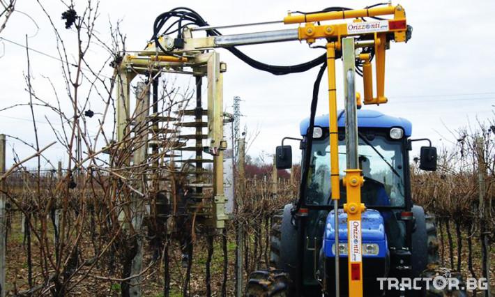 Машини за лозя / овошки Машина за зимна контурна резитба ORIZZONTI модел PFD 2 - Трактор БГ