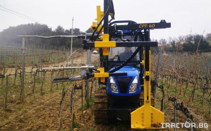 Машини за лозя / овошки Машина за зимна контурна резитба ORIZZONTI модел CPF60 5