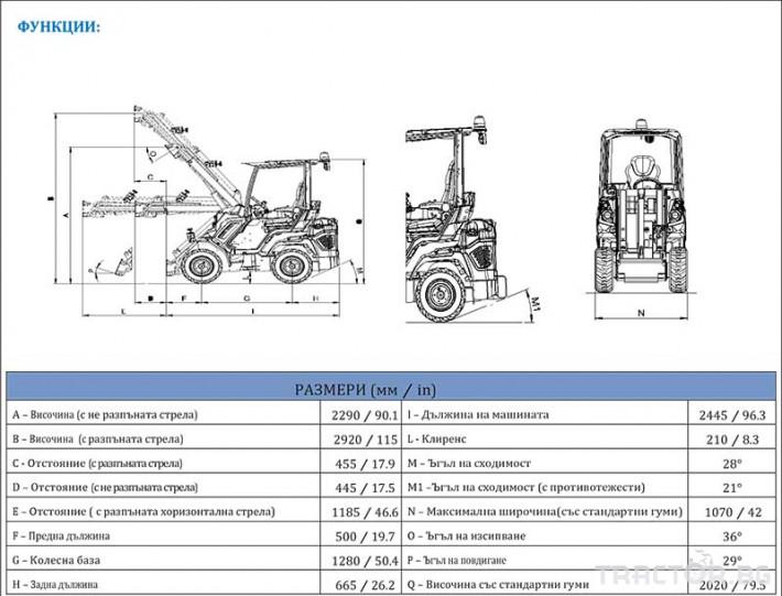 Телескопични товарачи MultiOne 6.3+ 1