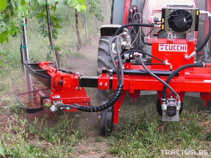Машини за лозя / овошки Лозаро овощарска фреза с автоматично хидравлично отклоняваща се секция SL1 9