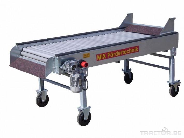 Машини за зеленчуци Ролкова лента за сортиране на картофи Mix-Foerdertechnik, 0RV 0