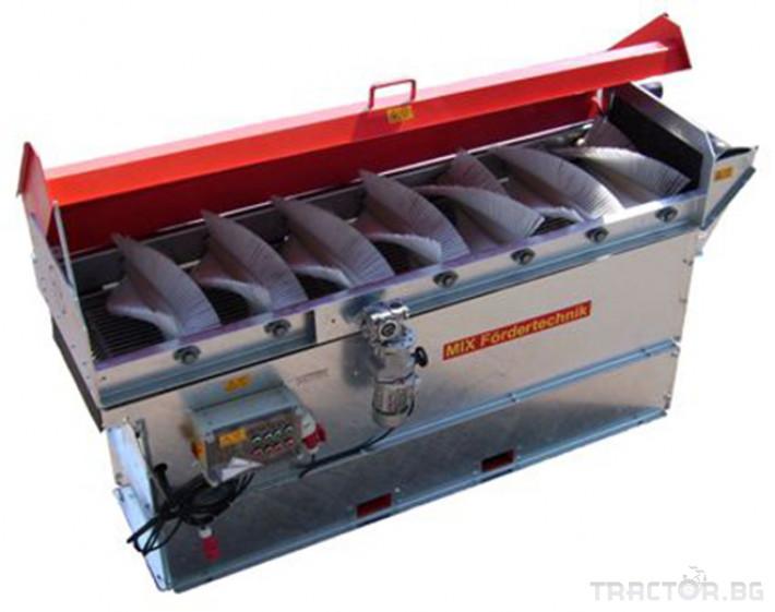 Машини за зеленчуци Машина за почистване на лук Mix модел 0ZE 0