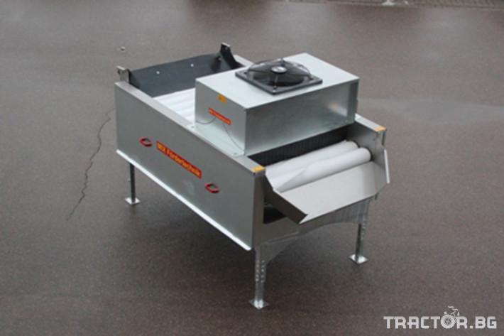 Машини за зеленчуци Барабанна сушилня Mix-Foerdertechnik 0