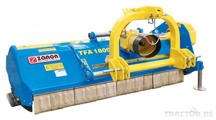 Мулчери Шредер Zanon TFA усилен среден тип от 130 до 220 см. 0