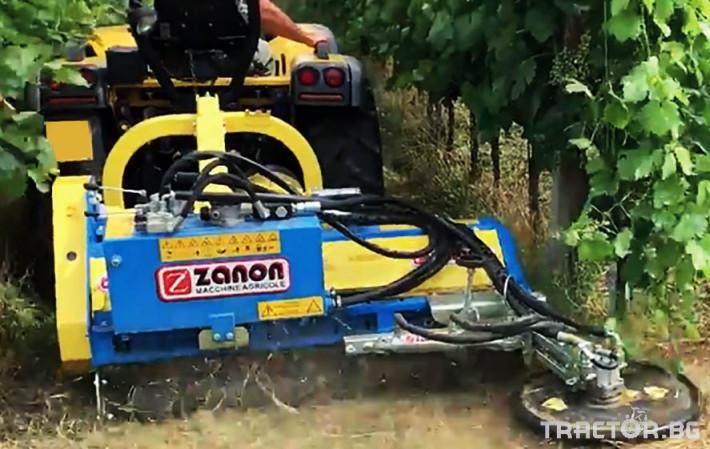 Мулчери Шредер Zanon TFA усилен среден тип от 130 до 220 см. 2