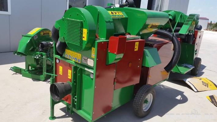 Машини за лозя / овошки Прикачен комбайн за лешници и орехи FACMA модел С200Т 1 - Трактор БГ