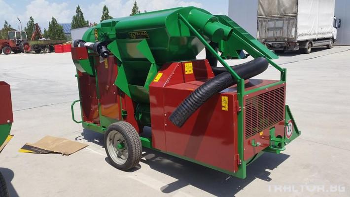 Машини за лозя / овошки Прикачен комбайн за лешници и орехи FACMA модел С200Т 0 - Трактор БГ