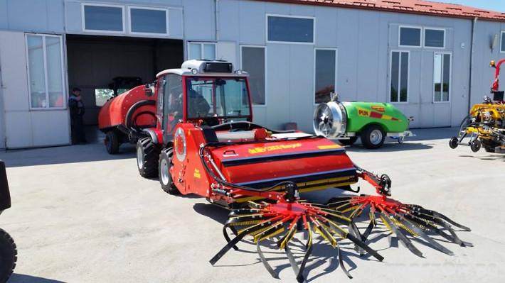 Машини за лозя / овошки Внос НАВЕСЕН КОМБАЙН ЗА БРАНЕ НА ЛЕШНИЦИ GF модел Super Jolly 1800 2