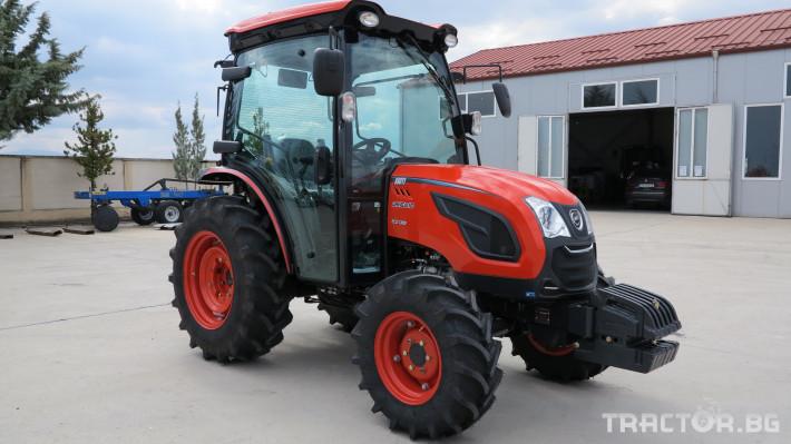 Трактори Kioti DK6020C 7 - Трактор БГ
