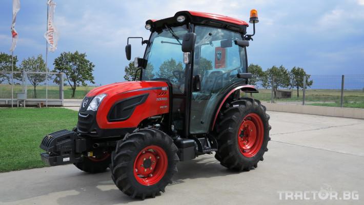 Трактори Kioti DK6020C 2 - Трактор БГ