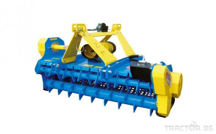 Мулчери Раздробител на клони Zanon TRK супер тежък тип 1 - Трактор БГ
