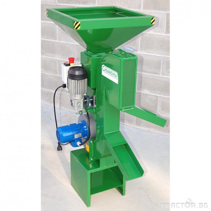 Машини за лозя / овошки Внос Машина за чупене на лешници CHIANCHIA подел P80 Comby 2