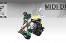 Разсадопосадъчна машина FEDELE модел MIDI DUPLEX