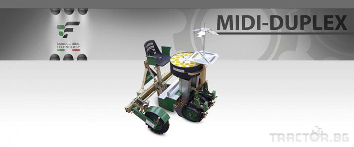 Машини за зеленчуци Разсадопосадъчна машина FEDELE модел MIDI DUPLEX 1