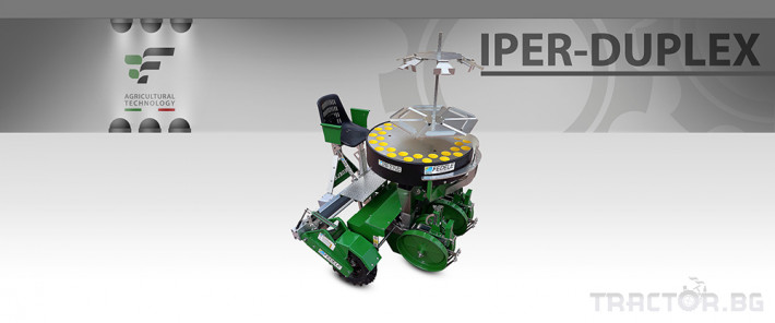 Машини за зеленчуци Разсадопосадъчна машина FEDELE модел IPER DUPLEX 4