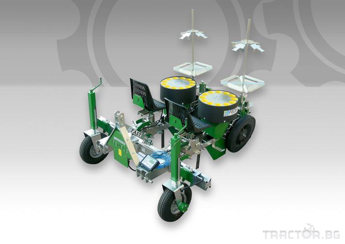Машини за зеленчуци Разсадопосадачна машина FEDELE модел FAST ELECTRONIC 5