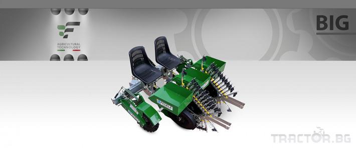 Машини за зеленчуци Полуавтоматична разсадопосадачна машина FEDELE BIG 10 - Трактор БГ