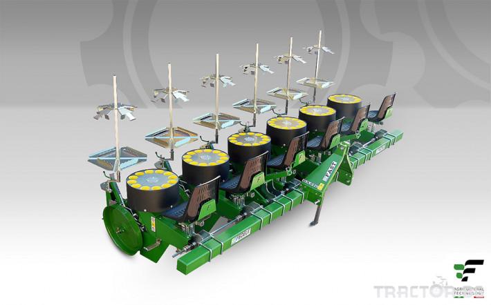 Машини за зеленчуци Разсадопосадачна полуавтоматична машина FAST BASIC 5