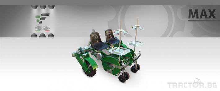 Машини за зеленчуци Разсадопосадачна полуавтоматична машина MAX 3