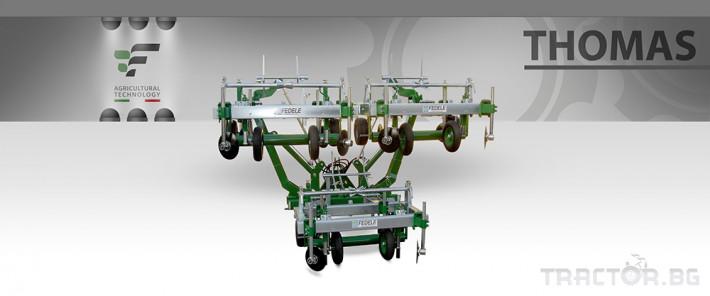 Машини за зеленчуци Найлоно полагаща машина FEDELE THOMAS 5