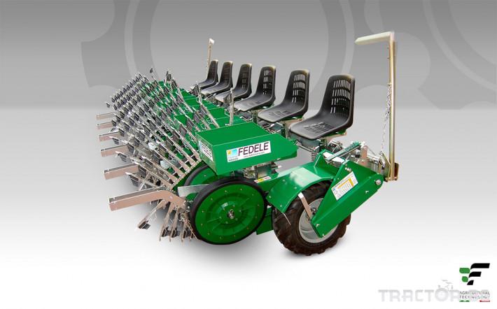 Машини за зеленчуци Полуавтоматична разсадопосадачна машина FEDELE BIG 1 - Трактор БГ
