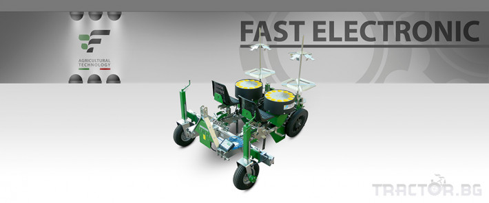 Машини за зеленчуци Разсадопосадачна машина FEDELE модел FAST ELECTRONIC 0