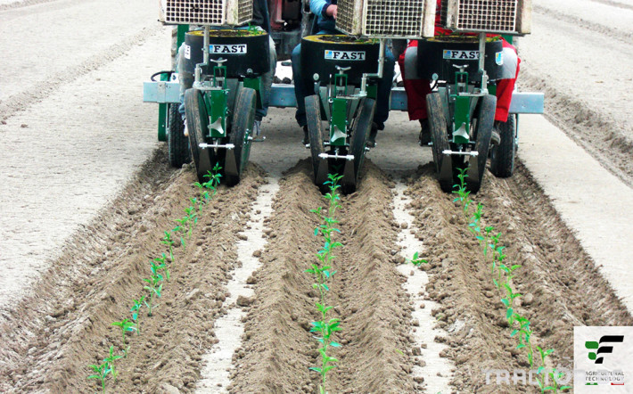 Машини за зеленчуци Разсадопосадъчна машина FEDELE модел FAST 13