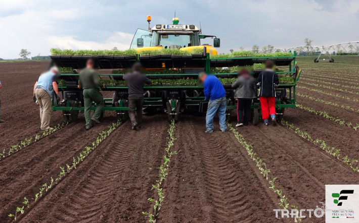 Машини за зеленчуци Разсадопосадъчна машина FEDELE модел FAST 2