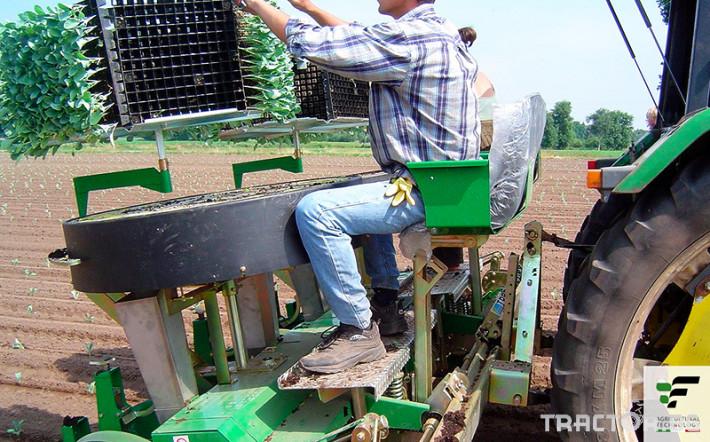 Машини за зеленчуци Разсадопосадъчна машина FEDELE модел IPER DUPLEX 3