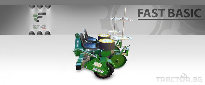 Машини за зеленчуци Разсадопосадачна полуавтоматична машина FAST BASIC 1