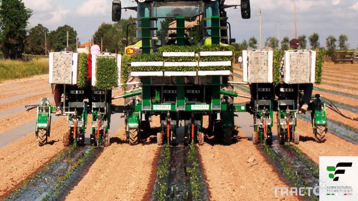 Машини за зеленчуци Разсадопосадачна полуавтоматична машина MAX 0
