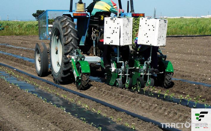 Машини за зеленчуци Разсадопосадачна полуавтоматична машина MAX 1