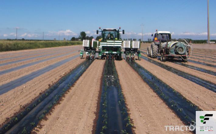 Машини за зеленчуци Разсадопосадачна полуавтоматична машина MAX 2