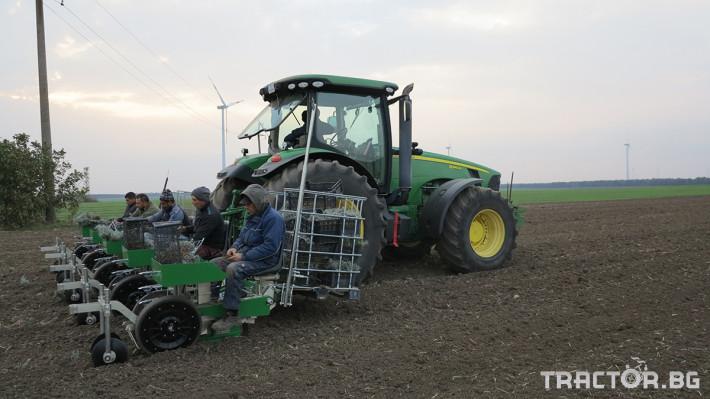 Машини за зеленчуци Разсадопосадачна машина за лавандула PLANT 2