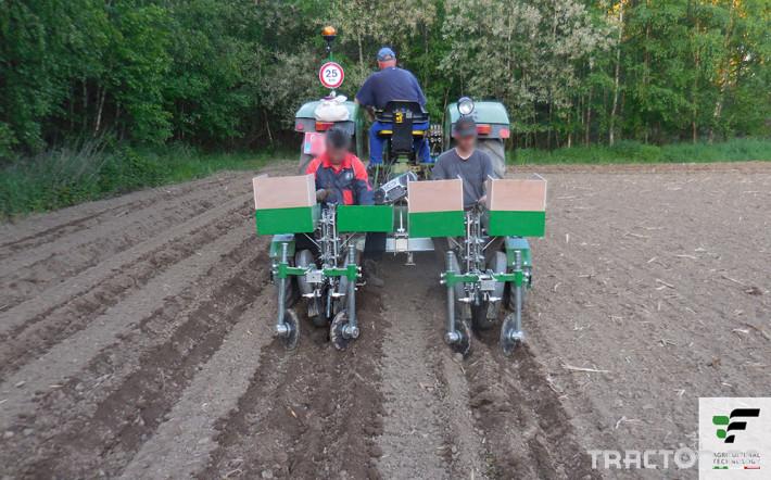 Машини за зеленчуци Разсадопосадачна машина за лавандула PLANT 9