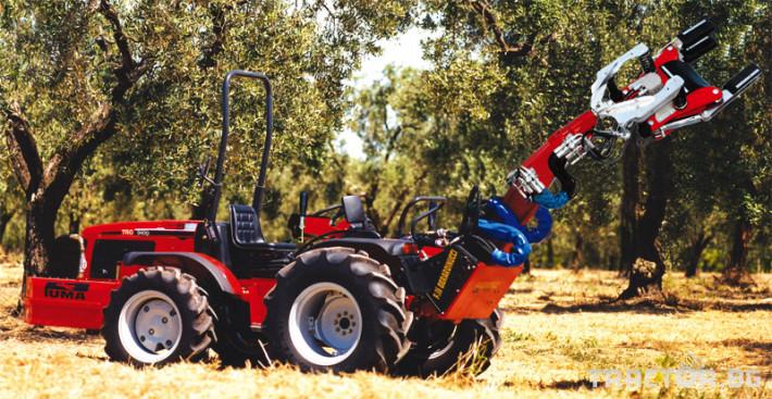 Машини за лозя / овошки Вибрираща глава за бране Berardinucci модел PUMA 1
