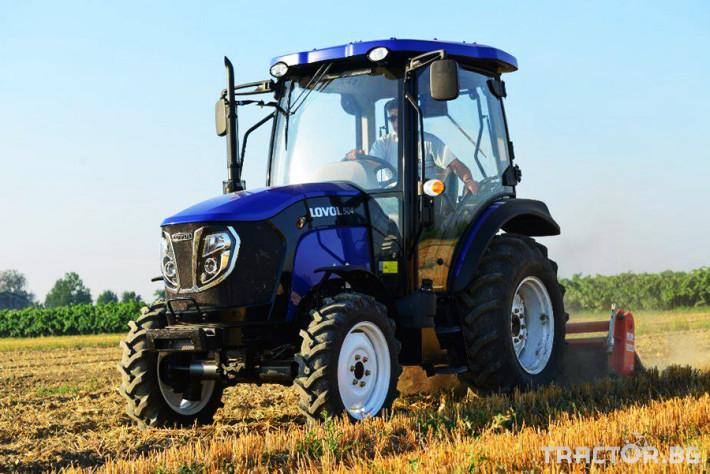 Трактори Foton - LOVOL TB1504C с кабина и климатик 0 - Трактор БГ