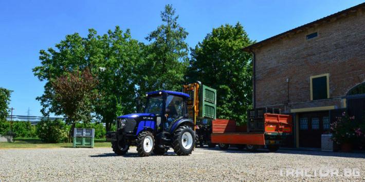 Трактори Foton - LOVOL TB1504C с кабина и климатик 2 - Трактор БГ
