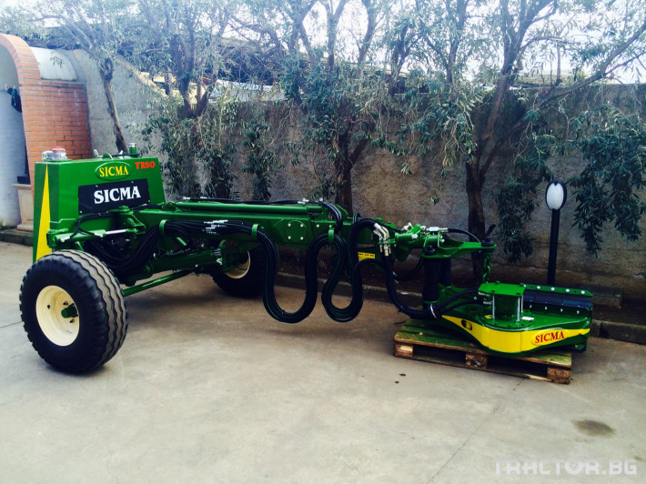 Машини за лозя / овошки Прикачен комбайн за бране SICMA модел TR80 0 - Трактор БГ