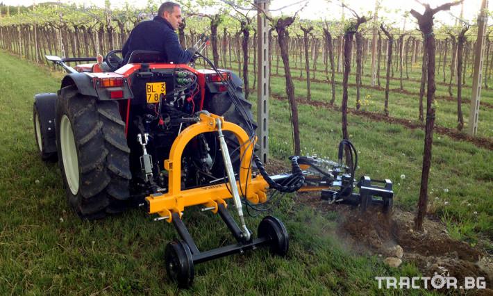 Фрези Лозаро-овощарска автоматично отклоняваща секция MIRA 0 - Трактор БГ