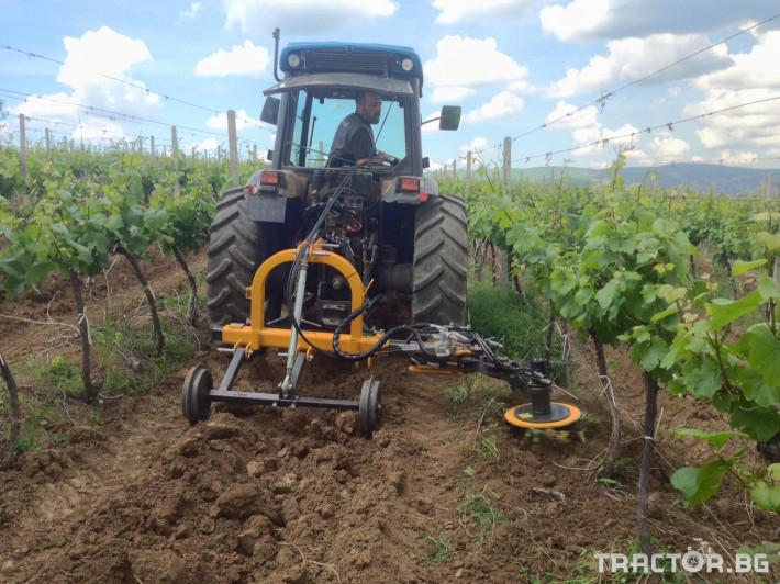 Фрези Лозаро-овощарска автоматично отклоняваща секция MIRA 1 - Трактор БГ