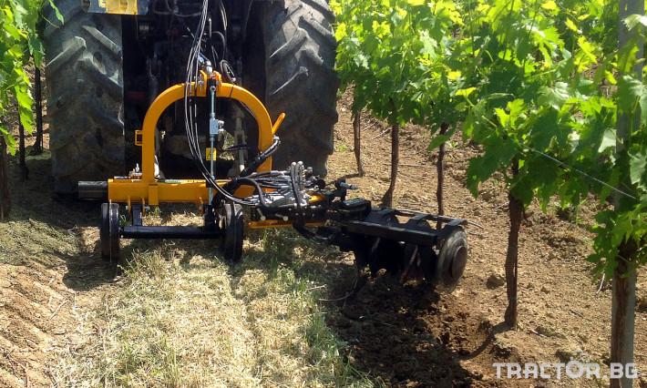 Фрези Лозаро-овощарска автоматично отклоняваща секция MIRA 3 - Трактор БГ